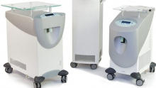 Cooling system in aesthetic medicine treatments